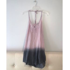 Guess Ombre Halter Cover Up Dress